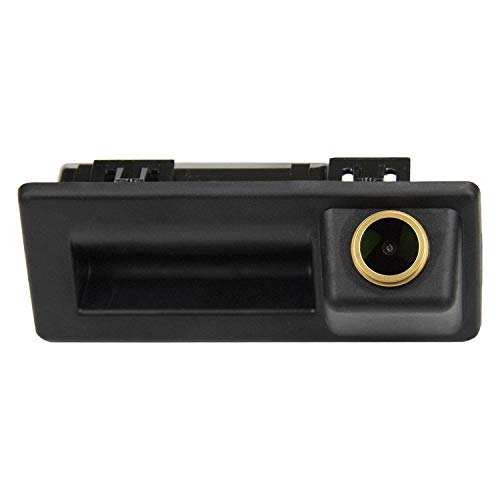 HD 1280x720p Goldene Kamera Wasserdicht Nachtsicht Rückfahrkamera Distanzlinien Umschaltbar Einparkhilfe für A4 B9 A5 Q5 A6 Q7 Teramont C-Trek Touran L Tiguan L Touran Caddy T6 2016-2020