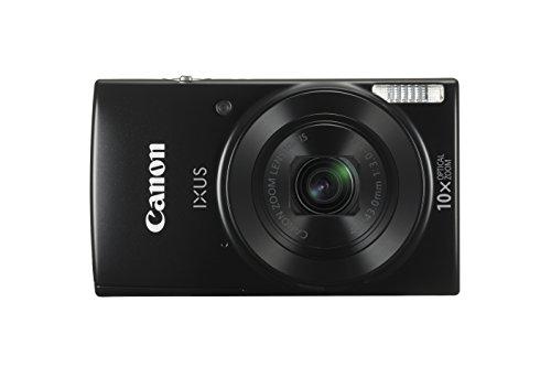 Canon IXUS 180 Cámara compacta 20 MP 1/2.3' CCD 5152 x 3864 Pixeles Negro - Cámara digital (20 MP, 5152 x 3864 Pixeles, CCD, 10x, HD, Negro)