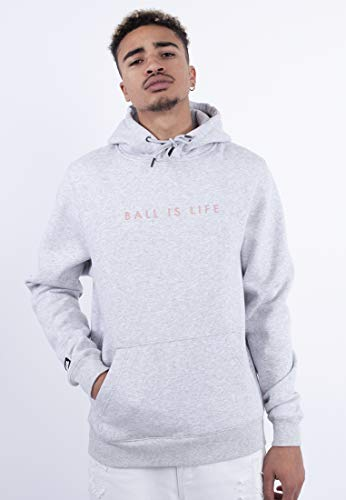 Cayler & Sons Mens Herren Hoodies Ball is Life Hooded Sweatshirt, Htr Grey/mc, XXL