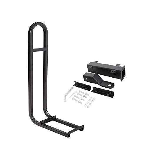 Golf Cart Rear Grab Bar Universal and Trailer Hitch with Receiver for Step...