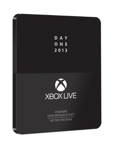Xbox Live - Day One 2013 - 12 Monate Gold-Mitgliedschaft mit Day One-Boni im Steelcase