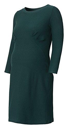 QUEEN MUM La robe de grossesse Fancy Punta, taille S, vert