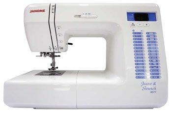 JANOME 8077 Jeans & Stretch