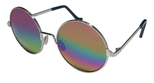 Cutler And Gross 1137 メンズ/レディース ラウンドフルリム 100% UVA & UVB レンズ サングラス/アイウェア US サイズ: 55-19-140 カラー: ゴールド