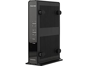 Actiontec Single Dual-Band Wireless Network Extender and Ethernet Over Coax Adapter  WCB3000N