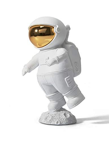 HAUCOZE Figurine Statue Astronaut Sculpture Spaceman Decor Modern Arts for...