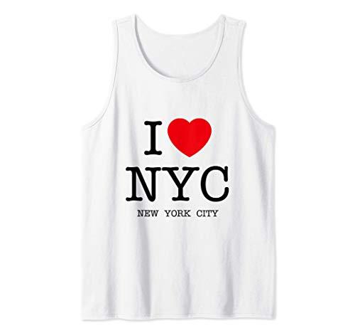 I Love NYC Graphic T-Shirts & Cool Designs, New York City Camiseta sin Mangas