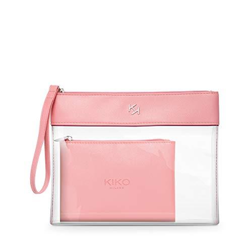 Kiko Milano Transparent Beauty Case 003 | Neceser Transparente con Estuche en Su Interior