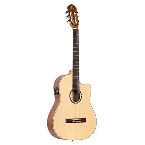 Ortega RCE125SN Thinline 6 String Electro Classical Guitar With GIGBAG