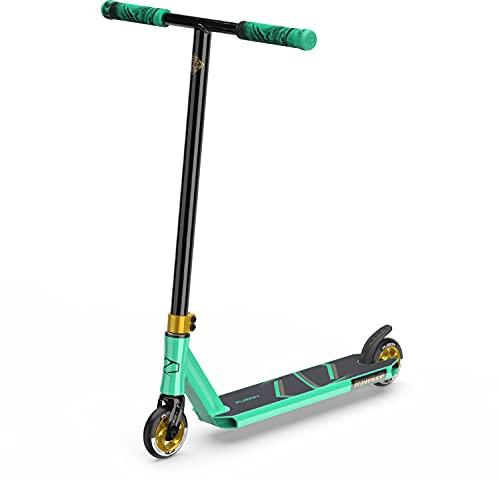 Fuzion Z250 Patinete Pro Scooters Freestyle - Patinetes Freestyle (SE Verde Azulado)