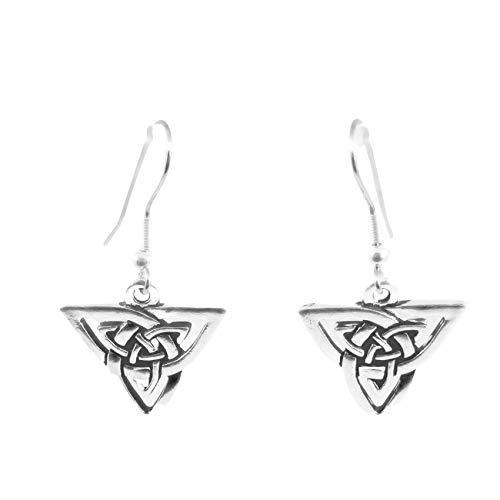 Triangle Celtic Knotwork Earrings FBA 1745