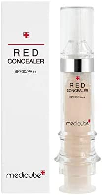21 MEDICUBE Red Concealer Acne prone sensitive skin 5 5ml freckle pore severe dark circle skin product image
