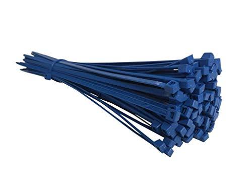 Heavy Duty Zip Tie Nylon Plastica di Alta Qualit/à Cavo Fascette Fascette Fermacavo Autobloccanti in 4 specifiche TOOHUI 400 Pezzi Fascette Stringicavo Fascette per Cablaggio Nero 80//120//150//200mm