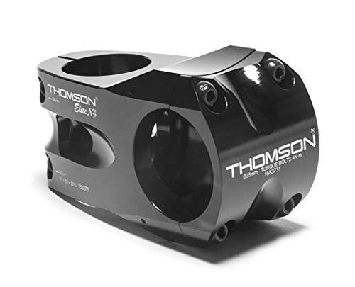 Thomson Casque Mixte Adulte Elite X4 A Noir 50 mm x 35 mm