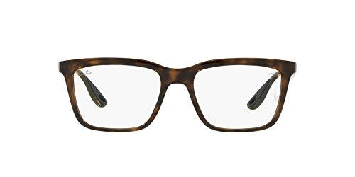 Ray-Ban 0RX7192M Gafas, HAVANA, 53 Unisex Adulto