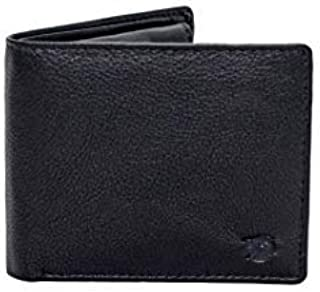 Flying Fossil Genuine Leather Hand-Crafted Bifold Wallet, Ultra Slim Wallet with 8 Card Slots, Coin pocket and 2 Currency ...