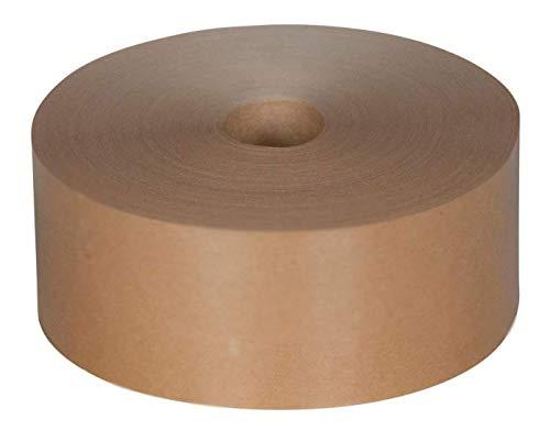 Nassklebeband Maschinenklebeband 60 mm / 200 m unverstärkt braun 70 g/m² Maschinenklebeband Paketklebeband Kraftpapier Packband
