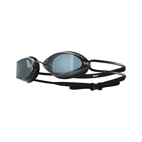 TYR Tracer-X Racing-Nano-Brille, Fina-Zulassung, Smoke/Black/Black, One Size