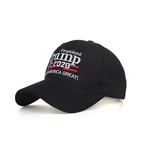 WZXCAP Zomer Lente Mannen Vrouwen Unisex Trucker Hoeden Amerikaanse Vlag Trump Maak Amerika Grote Opnieuw Katoen Hoed Mode Hoed 3D Borduurwerk USA Cap