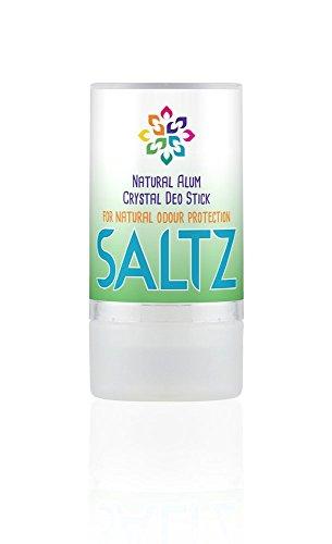 SALTZ - Kristall Alaun 100 % Natürlicher, Bio Deo-Stick - 90 g