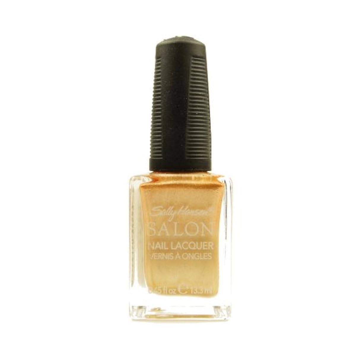 裕福な非互換笑(3 Pack) SALLY HANSEN Salon Nail Lacquer 4134 - Gilty Pleasure (並行輸入品)