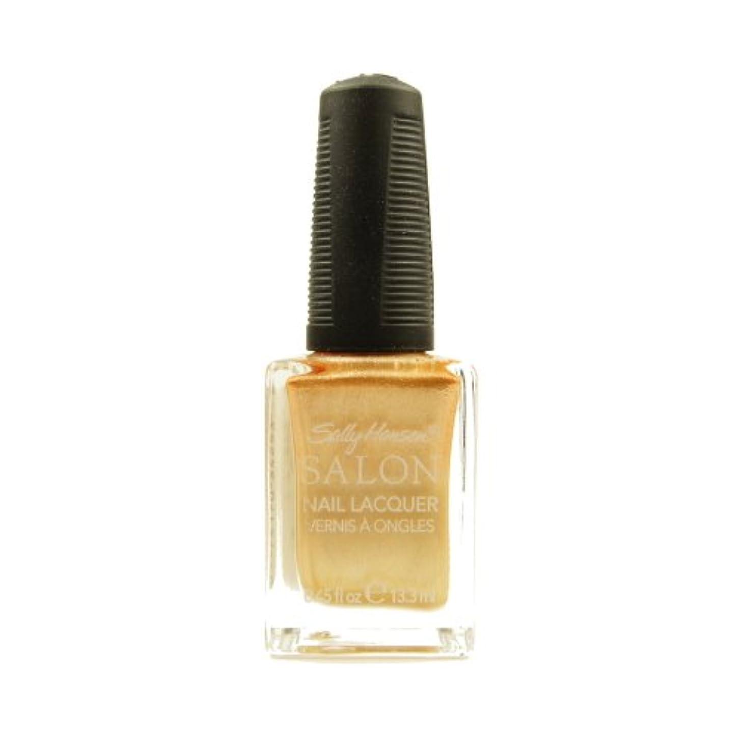 スカーフ取るに足らないセンチメートル(3 Pack) SALLY HANSEN Salon Nail Lacquer 4134 - Gilty Pleasure (並行輸入品)