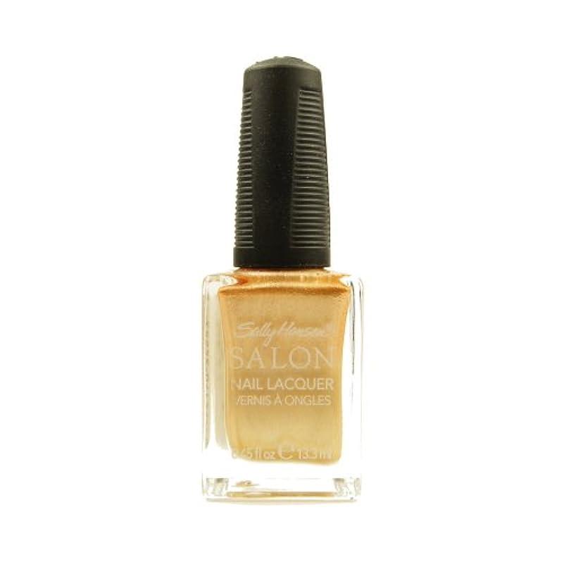 ペイント高速道路怒って(6 Pack) SALLY HANSEN Salon Nail Lacquer 4134 - Gilty Pleasure (並行輸入品)