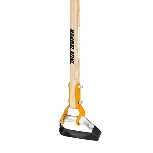 True Temper 2866300 Looped Action Hoe Cultivator with 54 in. Hardwood Handle with Cushion Grip, Pack of 1