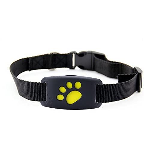 Savlot Rastreador GPS para Gatos Perros Collares Rastreador de Perros Impermeable USB Recargable Localizador de rastreo de Perros Ubicación y monitoreo de Actividades Negro/Azul/Rosa/Verde