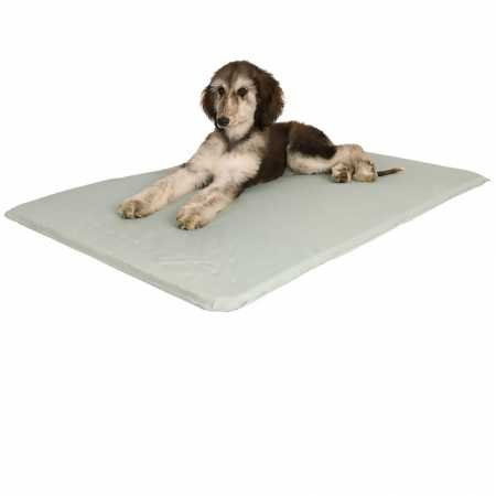 """K&H Pet Products Cool Bed III Cooling Dog Bed Medium Gray 22"""" x 32"""""""