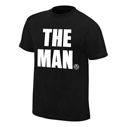 WWE Authentic Wear Becky Lynch The Man T-Shirt Black Medium