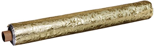 Oasis Supply Embossed Florist Foil, No Backing, 20IN x 50FT, Gold
