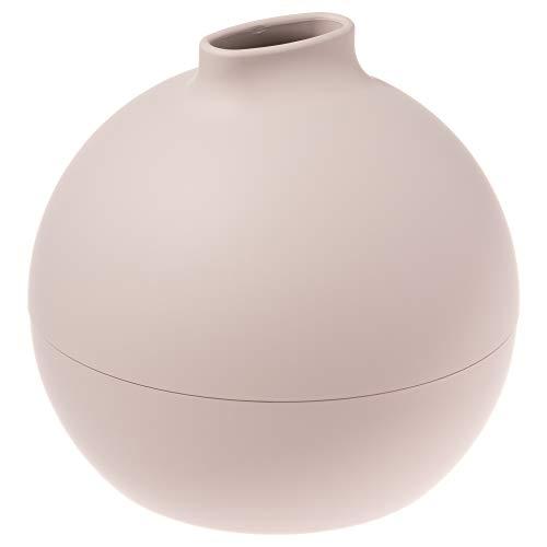 ティッシュケース ティッシュホルダー ティッシュボックス ペーパーポット Paper Pot ベージュ 18.8 x 18.6 x 18.2cm トイレットペーパー ティッシュ 対応 日本製 サンメニー
