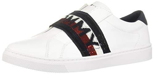 Tommy Hilfiger Glitter Elastic Slipon Sneaker Damen Sneaker Schlupfen - 41 EU