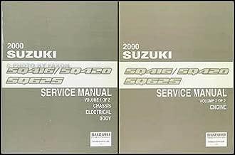 2000 Suzuki Vitara/Grand Vitara Repair Shop Manual Set Original