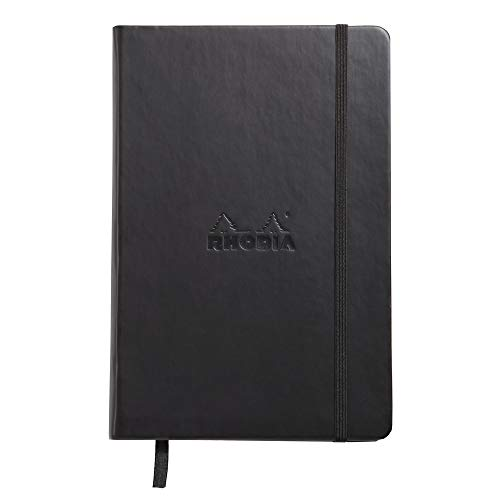 Rhodia A5 Webnotebook, Dot, Black