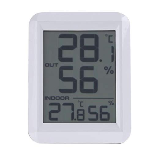 Numérique LCD C/F Température Humidité Compteur Réveil Thermomètre Intérieur Hygromètre Station Météo