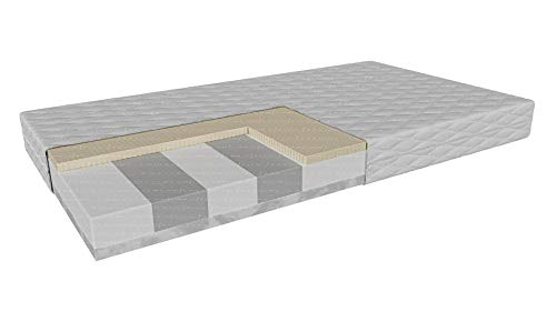 Schaumstoffmatratze HR | Teramo | Härte: H2/H3 Höhe: 11 cm | Hochflexibler...