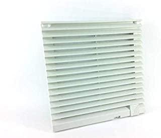 RITTAL 3323.207 Outlet Filter for 3323XXX RAL 7035 Outlet Filter Includes MAT 8.03H X 8.03W X 1.18D in