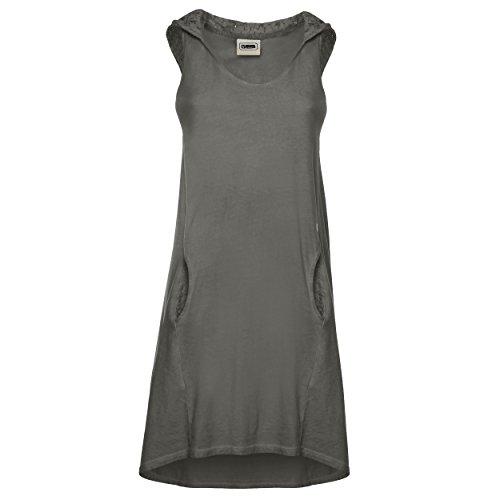 Fred Perry Mädchen Kleid Gr. l, grau