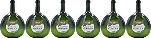 Schmitt Bergtheim Bacchus Doppel-Magnum-Bocksbeutel 3,0 L 2019 Halbtrocken (6 x 3.0 l)