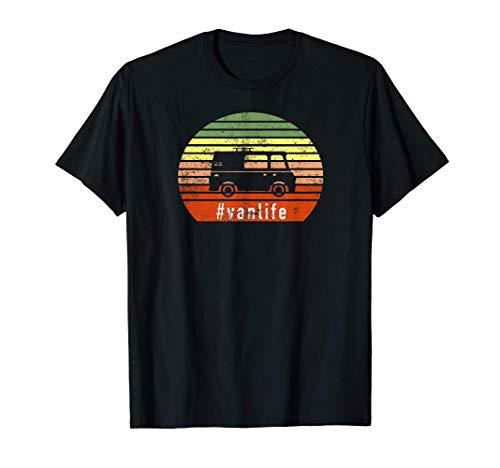 Vanlife - Road Trip, Camper Van, Wohnmobil, Camping Geschenk T-Shirt