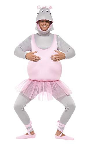 Smiffys Ballerina Hippo Costume,Pink,One Size