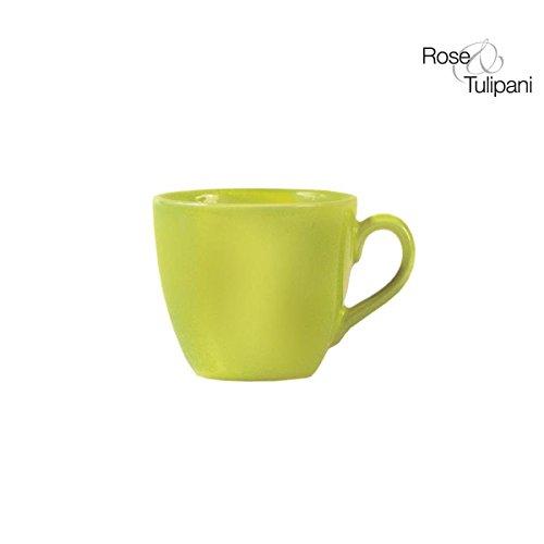 Rose und Tulpen r151300021Havana Becher Caffe 'ohne Untertasse, 6Stück