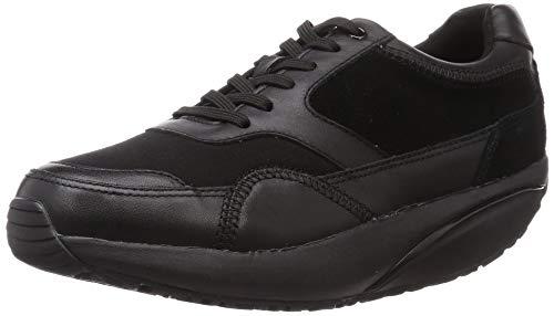 MBT Mujer Osaka Leather Textile Black Entrenadores 40 EU