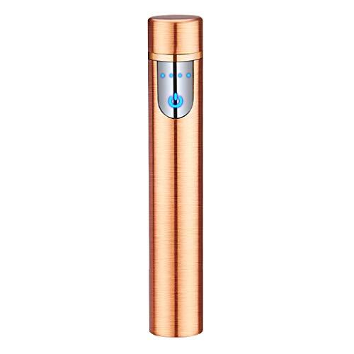 Elektronischer Mini-USB-Ladesensor mit Touchscreen, flammenlos, wiederaufladbar, Windschutz