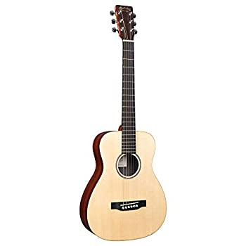 This is the Martin LX1E in Natural Finish with Gig Bag included