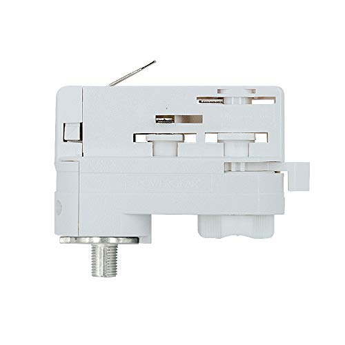 UNI 3Ph Stromschienenadapter Adapter weiss Staff Erco SLV Eutrac Hoffmeister Global
