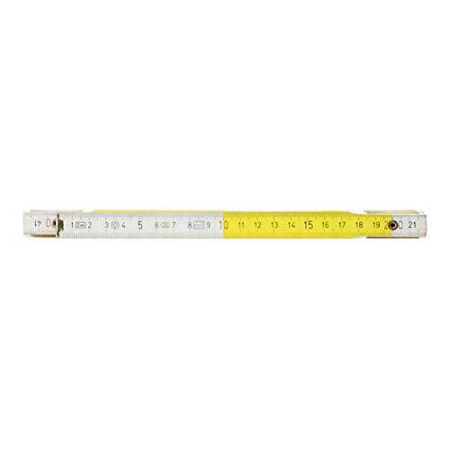 KS Tools 300.0063 - Metro plegable de madera, métrica, alterna, 2m