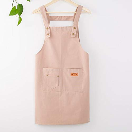 Schort Overalls Fashion Kitchen Waterproof Schoonheidssalon Moeder En Baby Shop Milk Tea Art Raw Hulpmiddelen Schort,Khaki